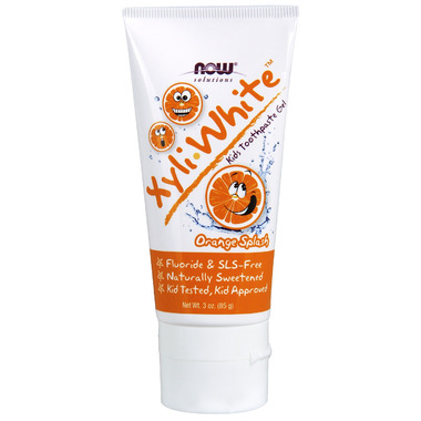 NOW Solutions XyliWhite Kids Toothpaste Gel Orange Splash