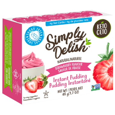 Simply Delish Instant Strawberry Pudding