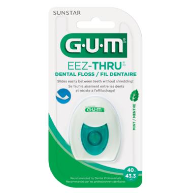 GUM Eez-Thru Dental Floss Mint