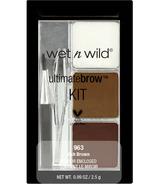 Kit de Wet n Wild Ultimate Brow Brun cendre