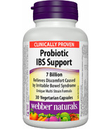 Webber Naturals Probiotic IBS Support 7 Billion