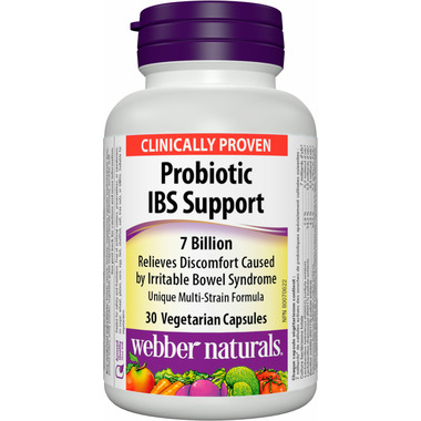 Webber Naturals Probiotic IBS Support 7 Billion