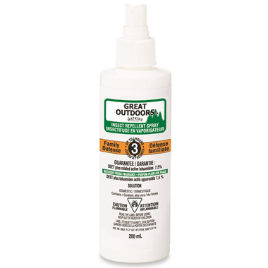 J.R. Watkins Great Outdoors Family Defense Insect Repellent Spray
