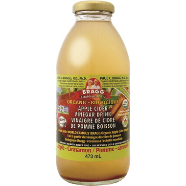 Bragg Organic Apple Cider Vinegar Drink Apple Cinnamon