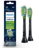 Philips Sonicare Premium White 2pack Brush Heads Black