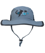 Calikids Bucket Hat with Shark Harbor Grey