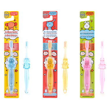 TheraWise Assorted Crystal Animal Children\'s Antibacterial Toothbrush