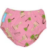 Charlie Banana 2-in-1 Swim Diaper & Training Pant Coco Pink Sophie XL