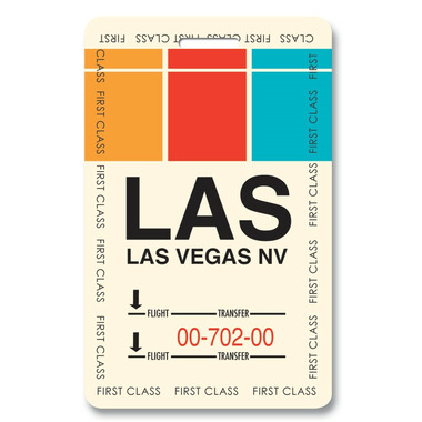 Smitten Kitten Las Vegas Luggage Tag