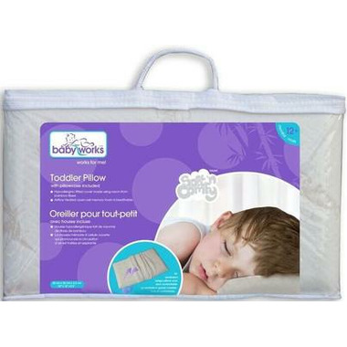 Baby Works Toddler Pillow with Bamboo Pillow Case