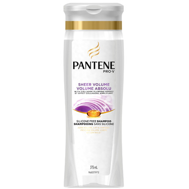 Pantene Sheer Volume Shampoo Silicone Free