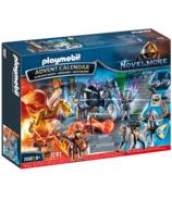 Playmobil Advent Calendar Novelmore Battle for the Magic Stone