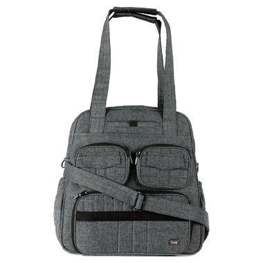 Lug Puddle Jumper Gym + Overnight Bag Heather Grey