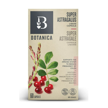 Botanica Super Astragalus Liquid Phytocaps