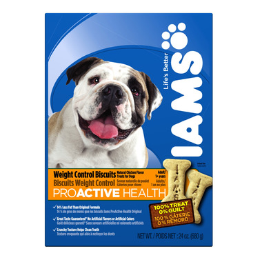 Iams Dog ProActive Health Adult Weight Control Biscuits