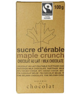 Galerie au Chocolat Maple Crunch Chocolate Bar