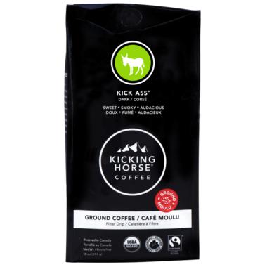 Kicking Horse Coffee Kick Ass Ground Coffee