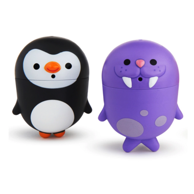 Munchkin CleanSqueeze Bath Squirts Penguins and Walrus
