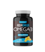 AquaOmega Omega-3 Fish Oil AEP Extra EPA Softgels