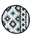 Tofino Towel The Mackenzie Round Towel