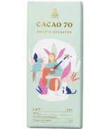Cacao 70 Smooth Operator Milk Chocolate
