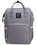 AOFIDER Diaper Bag Grey