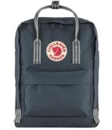 Fjallraven Kanken Backpack Navy Long Stripes