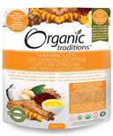 Organic Traditions Turmeric Latte with Saffron and Probiotics
