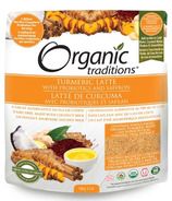 Organic Traditions Turmeric Latte with Probiotics