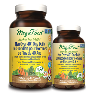 MegaFood Men Over 40 One Daily Multi-Vitamin Bonus Pack