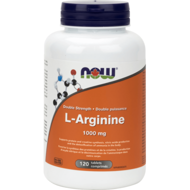 NOW Foods L-Arginine 1000 mg