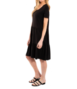 LNBF June Baby-Doll Dress Black