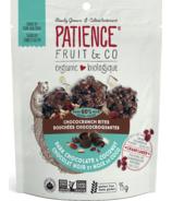 Patience Fruit & Co. Bouchées biologiques croustillantes au chocolat noir et à la noix de coco