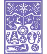Grim'tout Stencil - Snow Queen