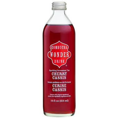 Kombucha Wonder Drink Cherry & Black Currant