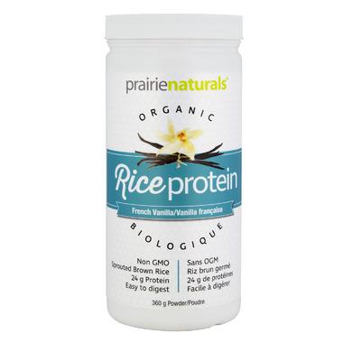 Prairie Naturals Organic RiceProtein French Vanilla