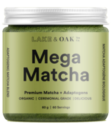 Lake & Oak Tea Co. Mega Matcha + Adoptogens