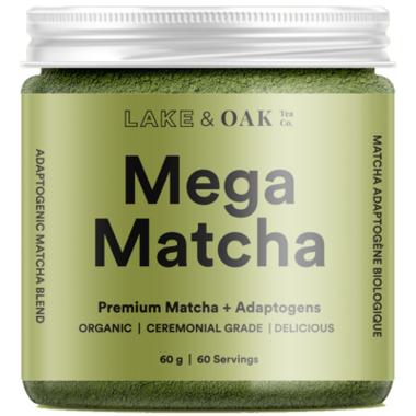 Lake & Oak Tea Co. Mega Matcha + Adoptogens