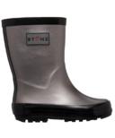 Stonz Rain Boots Metallic Grey