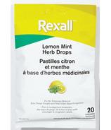 Rexall Herb Drops Lemon Mint