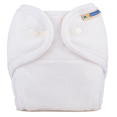 Mother ease One Size Cloth Diaper White