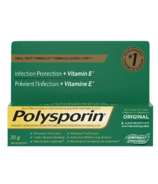 Polysporin Original Antibiotic Ointment Heal-Fast Formula, 30g