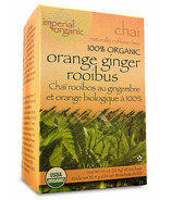 Uncle Lee's Imperial Organic Orange Ginger Rooibus