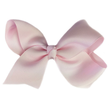 """Baby Wisp Pinch Clip Americana 4\"""" Bow Icy Pink"""