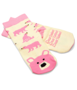 Hatley Pink Bear Naked Kids Socks