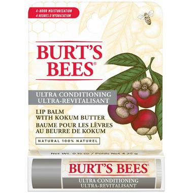 Burt\'s Bees Ultra Conditioning Lip Balm with Kokum