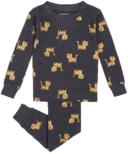 petit lem Tiger Pajama Sets 2Y-4Y