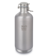 Klean Kanteen Insulated Growler With Swing Lok Cap Brushed Stainless