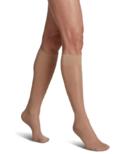 Sigvaris Sheer Fashion Compression Sock Womens Natural