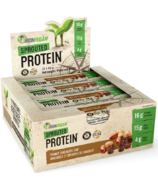 IronVegan Sprouted Protein Bars Peanut Chocolate Chip